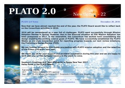 Newsletter #22