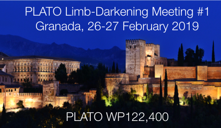 PLATO Limb-Darkening Meeting #1,  26-27 Feb 2019, Granada