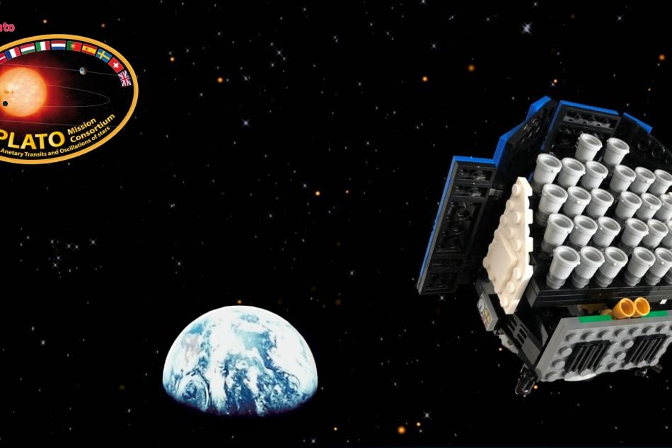 PLATO LEGO model