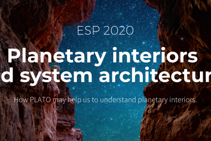PLATO ESP2020: Planetary Interiors and System Architectures, 30 Nov-3 Dec 2020, Onlinemeeting